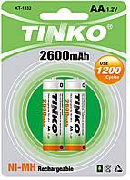 Аккумулятор TINKO 2600 mAh Ni-MH  size AA