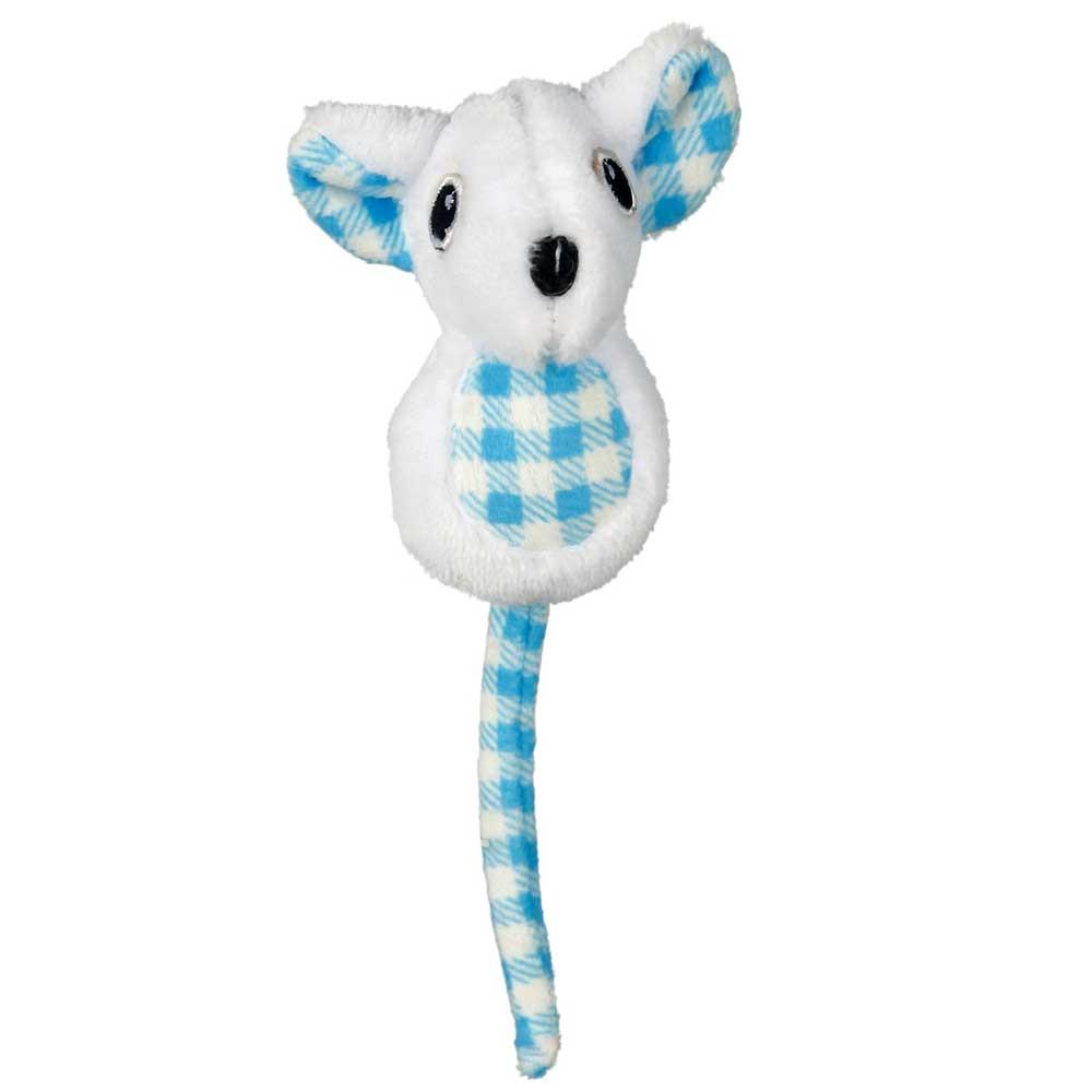 Trixie  TX-45759 Мышь плюшевая с кошачьей мятой -игрушка для кошки