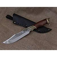 Нож охотничий Агрессор, ручная работа, лучший подарок охотнику
