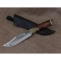 Нож охотничий Агрессор, ручная работа, лучший подарок охотнику, фото 1