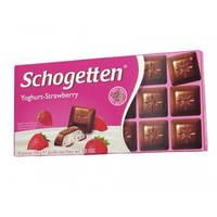 Шоколад Schogеtten Yoghurt-Strawberry 100 гр
