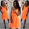Женское красивое шифоновое платье (5 цвета)