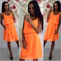 Женское красивое шифоновое платье (5 цвета), фото 1