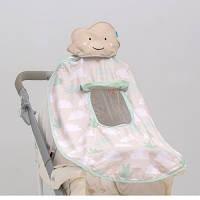 Развивающая игрушка для коляски и автокресла - ТЕНИСТЫЙ ПОЛДЕНЬ ( (UPF 50+, защита от UVA/UVB лучей)