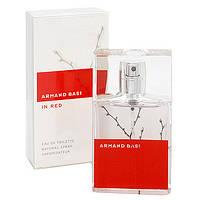 Женская туалетная вода Armand Basi In Red Eau de Toilette , 50 мл