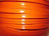 Кедер (кедрик) кант шовный полиэтиленовый оранжевый