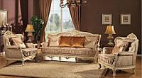 """Классический комплект мягкой мебели диван и кресла """"Версаль"""""""