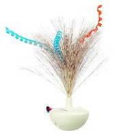 Trixie  TX-46013 Feather Wobble Неваляшка с щебетанием птиц-игрушка для кошек