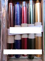 Свечи декоративные мрамор 17 см