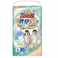 Трусики-подгузники GOO.N серии AROMAGIC DEO PANTS для детей весом 9-14 кг (размер L, унисекс, 42 шт)