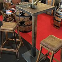 Барный комплект мебели: стол и 2 стула
