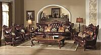 """Классический комплект мягкой мебели диван и кресла """"Генрих"""""""