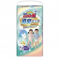Трусики-подгузники GOO.N серии AROMAGIC DEO PANTS для весом детей 12-20 кг (р.Big(XL),унисекс,36шт.)