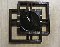 Часы настенные из дерева - Звездное небо