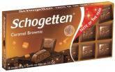 Шоколад Schogеtten  Caramel Brownie 100 гр