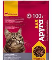 Корм для котов Для Друга 100 г (Говядина)