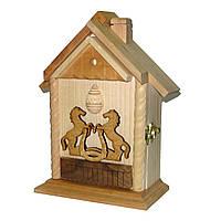 Ключница деревянная