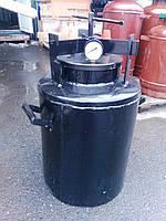Автоклав бытовой для домашнего консервирования на 24 пол-литровые банки(взрывной клапан 6 атм)