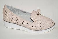 Туфли для девочек с перфорацией оптом от фирмы Башили G50-8 (8пар, 30-36)