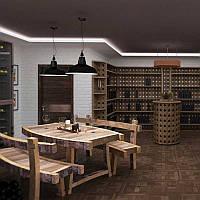 Комплект мебели для ресторана: стол и 2 лавки