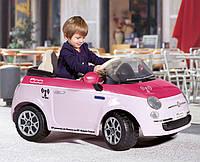Детский электромобиль Peg-Perego FIAT 500 Pink RC-control розовый