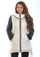 Молодежная куртка стильная, модная  Сандра размеры 44, 46, 48, 50, 52
