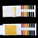 Упаковка лакмусовой бумаги ( pH-тест ) 1-14рН ( 20 пакетиков по 80 полосок ), фото 4