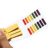 Упаковка лакмусовой бумаги ( pH-тест ) 1-14рН ( 20 пакетиков по 80 полосок ), фото 5