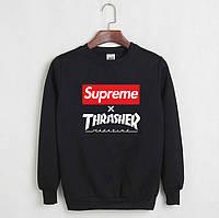 Уникальный свитшот Thrasher x Supreme
