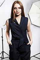 Комбенизон с коротким рукавом,шорты.Размер: С,М,Л,ХЛ Цвет: темно-синий, хакиТкань: костюмная диагональ