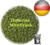 Хмель Халлертау Миттельфрю (Hallrtau Mittelfrueh), α-1.5%