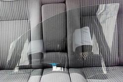 Скло правої передньої двері для Mitsubishi (Міцубісі) L200 (2006-2015)