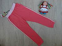 Спортивные брюки для девочки летние р.122