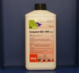 Интровит - EС - 100 Орал 1 л Interchemie (Нидерланды) Оральный раствор для ветеринарного использования.