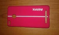 Чехол-накладка Xiaomi Redmi 3 3s 3 pro Remax Soft Touch Sport красная