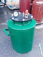 Автоклав А-4 (взрывной клапан 6 атм, термометр, 24*0,5л)