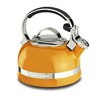 Чайник KitchenAid 1.89 л. со свистком  KitchenAid, Mandarin Orange