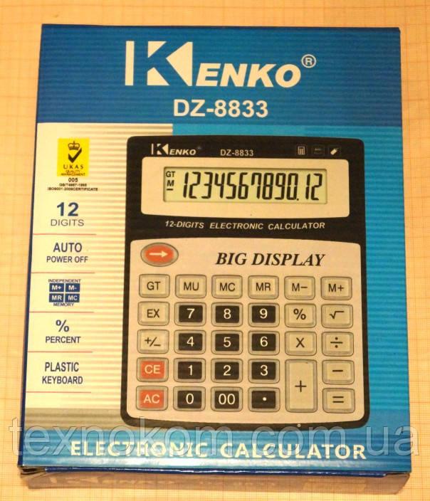 Калькулятор  KENKO DZ-8833