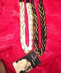 Греческая повязка для волос