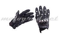 Перчатки AXE RACING черные mod:2