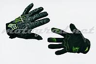 Перчатки Monster черные FOX