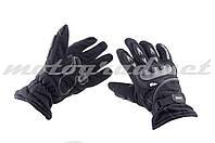 Мотоперчатки утепленные черные mod:1 AXE RACING