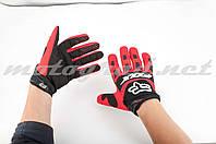 Перчатки DIRTPAW mod:028 красно-черные FOX