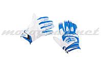 Перчатки DIRTPAW mod:033 сине-белые FOX