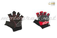 Перчатки без пальцев красные ALPINESTARS
