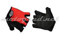Перчатки без пальцев GLOVE mod:Freeride красные FOX
