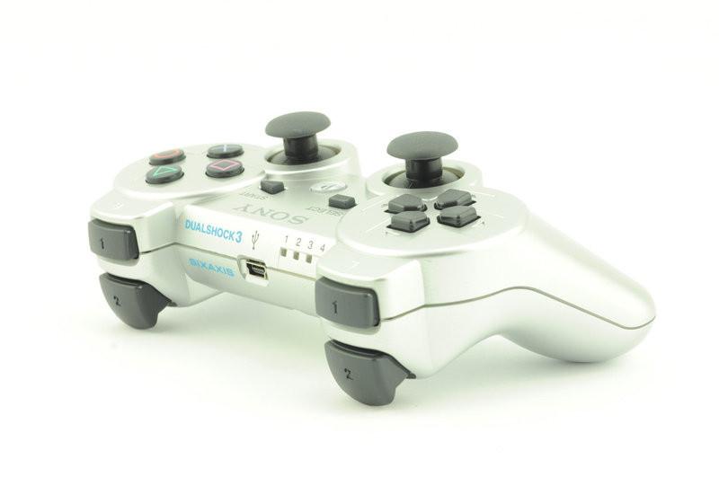 Геймпад беспроводной для PS3 SONY Wireless DUALSHOCK 3 (Серебро/Silver), фото 1