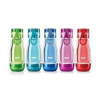 Спортивная бутылка со стеклянной внутренней колбой ZOKU Glass Core Bottle, 355 мл.