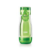 Спортивная бутылка со стеклянной внутренней колбой ZOKU Glass Core Bottle, 355 мл. Green