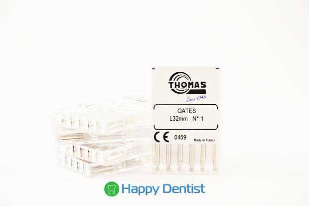 Gates Thomas (Гейтс Томас) развертки стоматологические